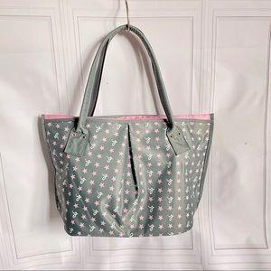 Agnes B tote hobo handbag